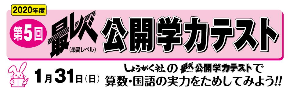 【小学部】最レベ公開学力テスト